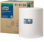 KRPE netkane, čistilne, Tork Cleaning Cloth, bele, 380 m, W1